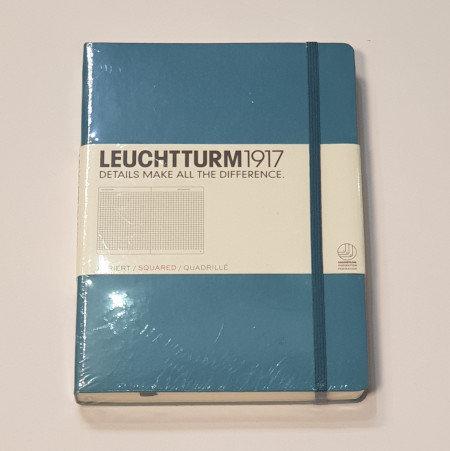 Leuchterm A5 Medium Notebook Hardback Nordic Blue