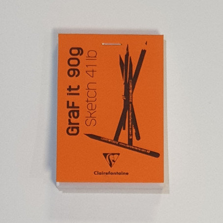 Clairefontaine Graf It 90g Sketch 411b Small Orange