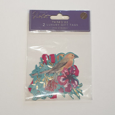 Violet Paradise 2 Luxury Gift Tags