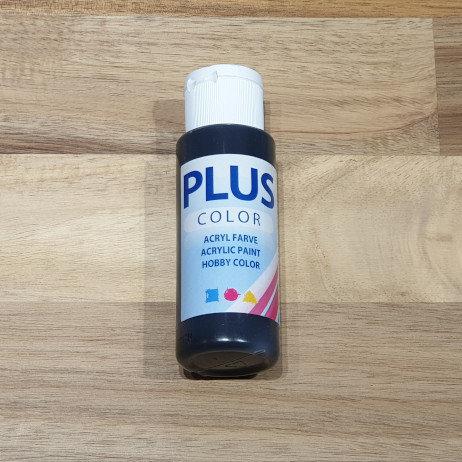Plus Color Acrylic Paint Black 60ml