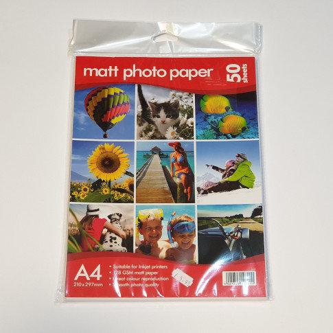 Matt Photo Paper A4 50 Sheets
