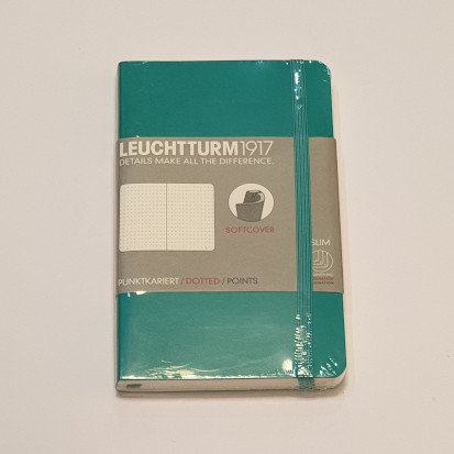 Leuchterm A6 Pocket Notebook Softcover Pacific