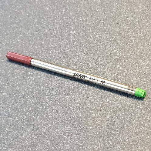 Lamy M63 Rollerball Refill Medium Green