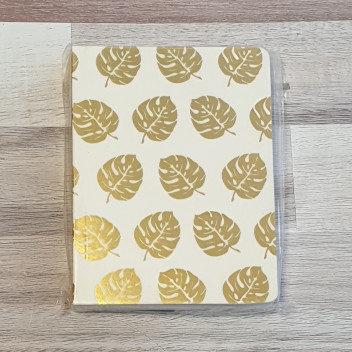 Tropical Leaf A6 Notebook