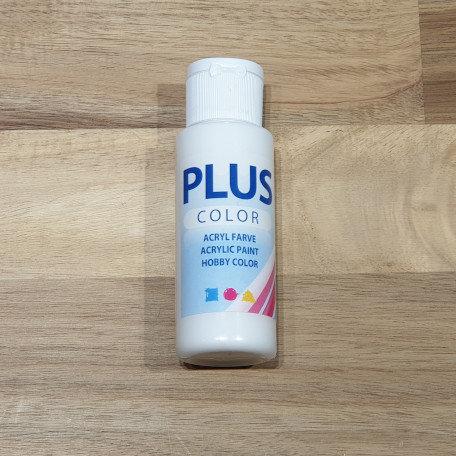 Plus Color Acrylic Paint White 60ml