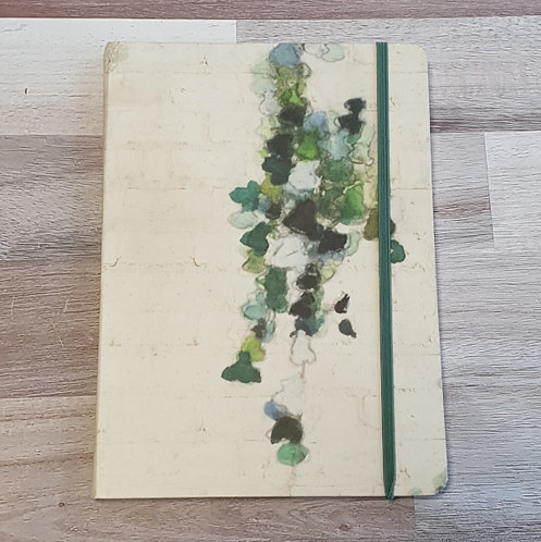 Hedera Hardcover A5 Notebook