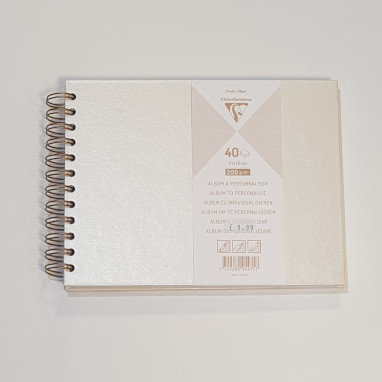 Clairefontaine Album to Personalise 40 Sheets 21x16cm