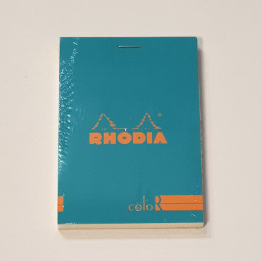 Rhodia Blue Bloc Colour No12 Lined Notebook