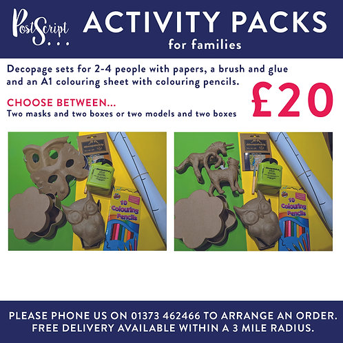 Activity Pack 2