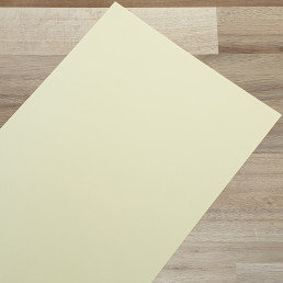 Smooth Coloured Card Ivory A4 270gsm