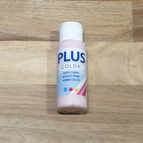 Plus Color Acrylic Paint Soft Pink 60ml