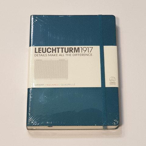 Leuchterm A5 Medium Notebook Hardback Pacific