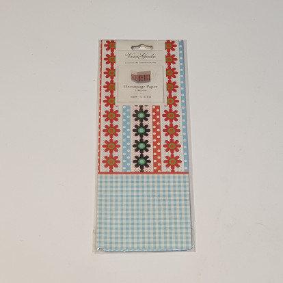ViviGade Decopatch Paper 10 Sheets London Blue
