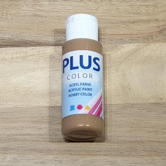 Plus Color Acrylic Paint Light Brown 60ml