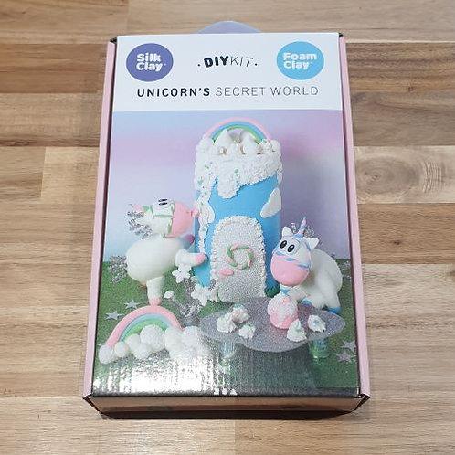 Silk Clay D.I.Y Unicorn's Secret World