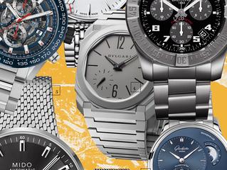 Твид и кольчуга: часы с оригинальными браслетами