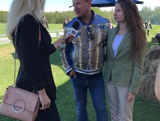 Олег Климов на Triumph Polo Cup