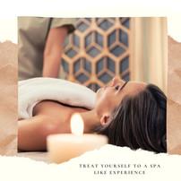Treat yourself to a spa like experience