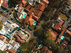 Aerial Photo of a Neighborhood
