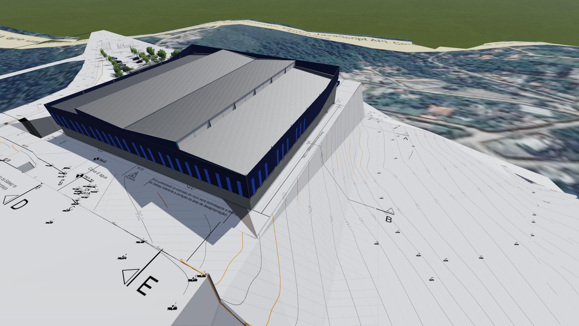 Arquitetura Industrial e logístico
