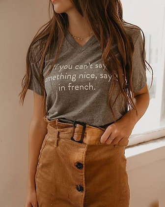 Say it in French TEE
