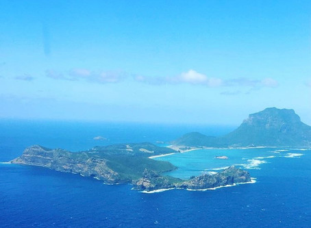 A trip to Lord Howe Island