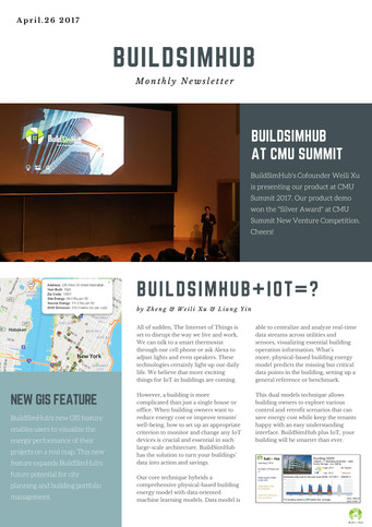 BuildSimHub Monthly Newsletter--April.26