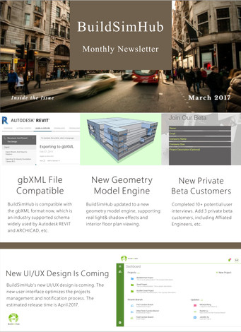 BuildSimHub Monthly Update--March