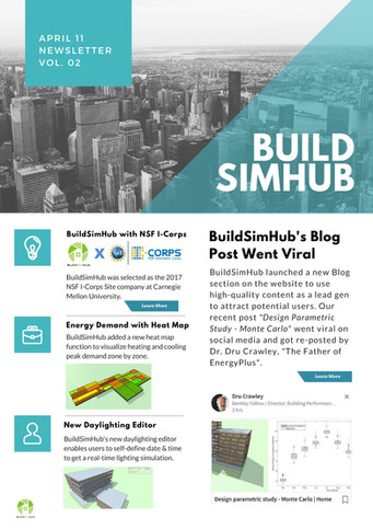 BuildSimHub Monthly Newsletter--April.11