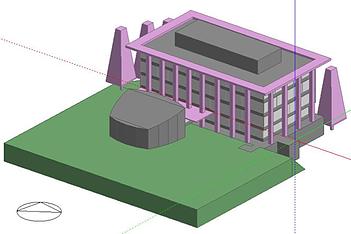 DesignBuilder Model