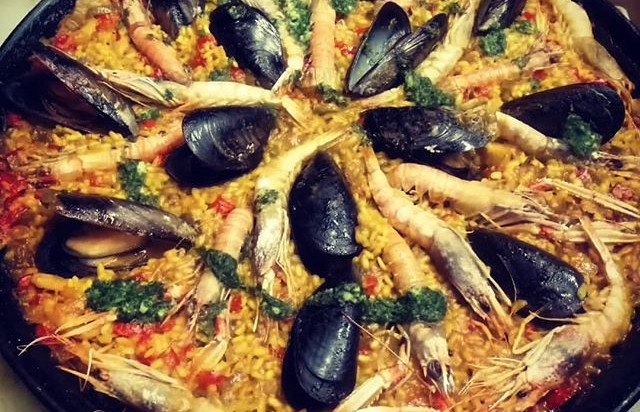 Paella - it has been Vandalized!