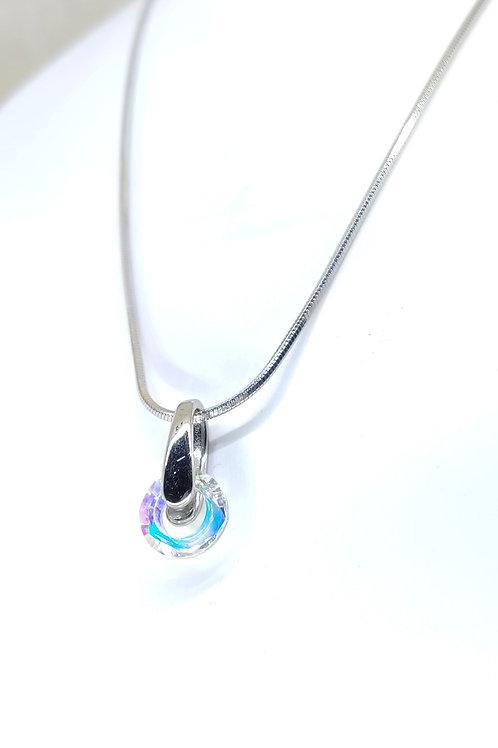 small Boréales ring necklace