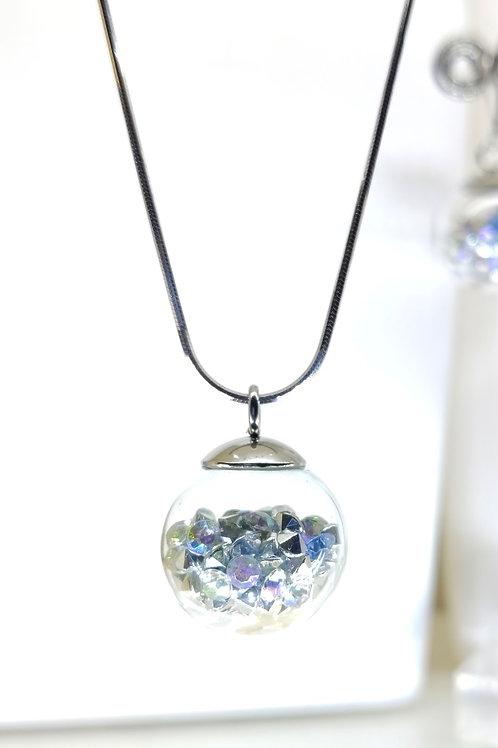 AB bubble necklace