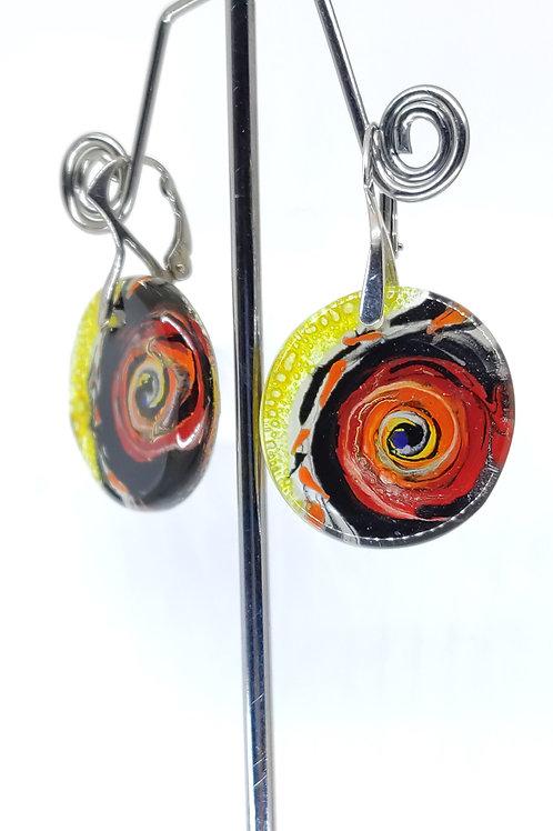 grande boucle d'oreille Miró