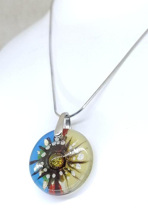 small round Azteka necklace