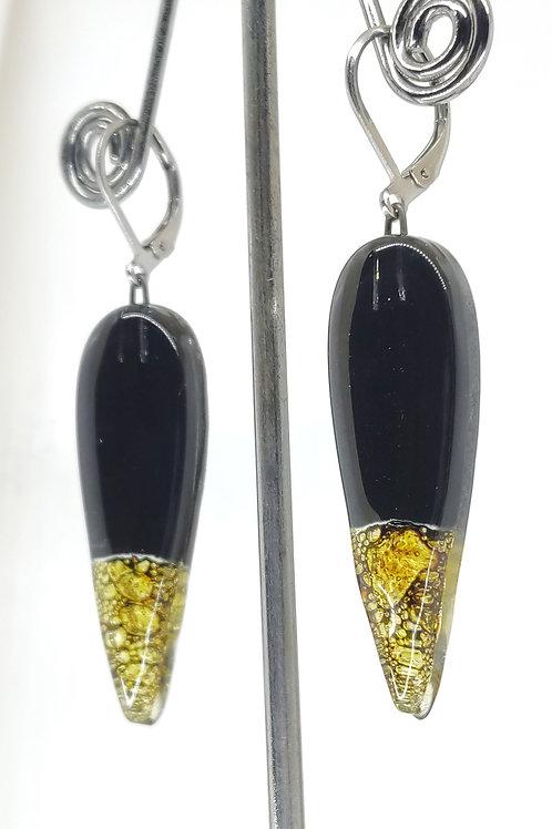 Noche drop earring
