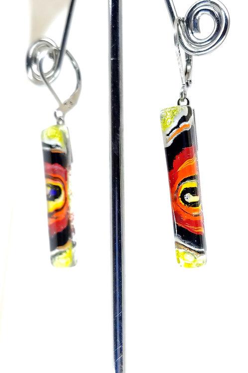 boucle d'oreille bâton Miró