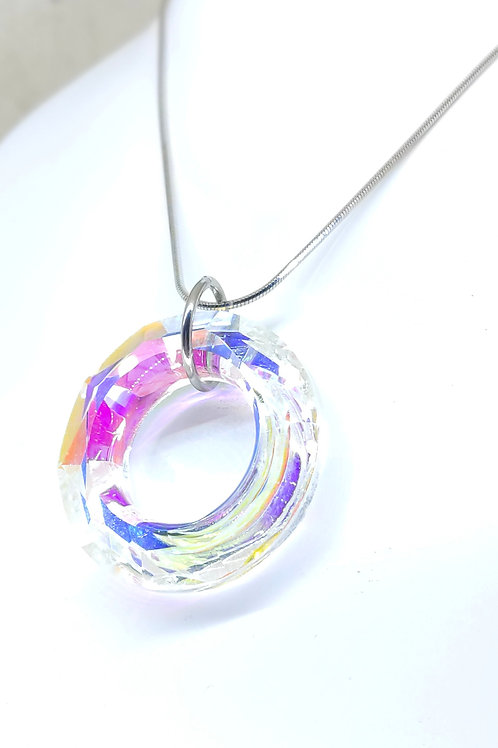 large Boréales ring necklace