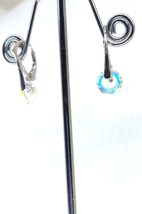 boucle d'oreille petit anneaux Boréales