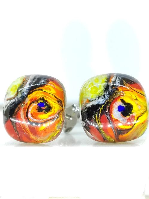 boucle d'oreille clou Miró