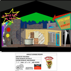 LITTLE SHOP OF HORRORS FRONT VIEW (Store