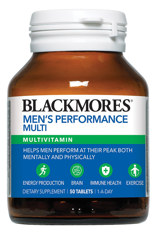 Blackmores Men's Performance Multi 50 Tablets(₱35.18/Tab)-EXP Sep2020