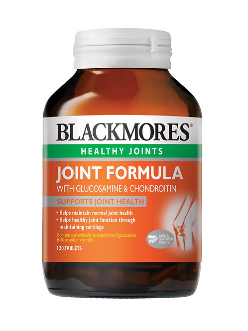 Blackmores Joint Formula with Glucosamine & Chondroitin 120 Tablets (₱29.66/Tab)