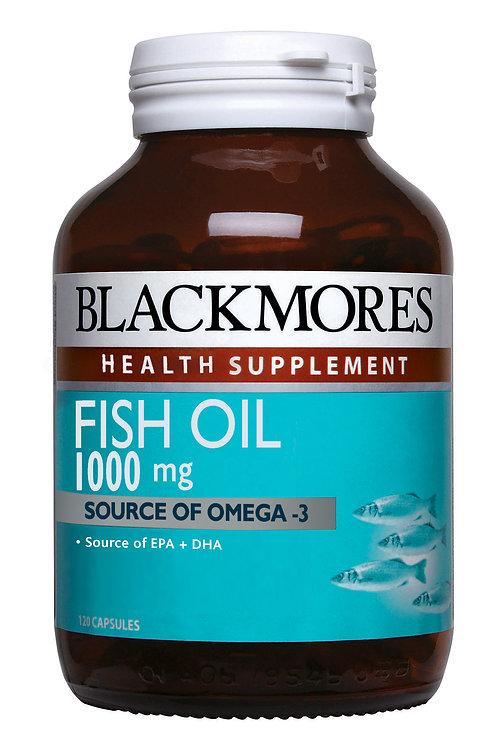 Blackmores Fish Oil 1000 120 Capsules (₱11.17/Cap)-EXP Aug2020