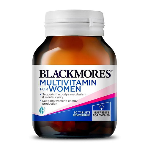 Blackmores Multivitamins For Women 50 Tabs(₱30.28/Tab)-EXP Jun2022