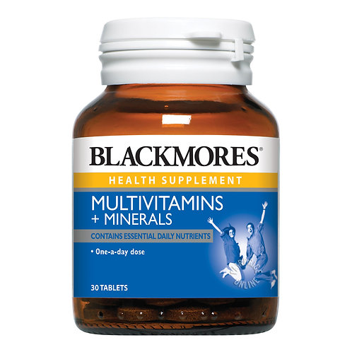 Blackmores Multivitamins + Minerals 30 Tablets (₱40/Tab) Exp Mar 2022