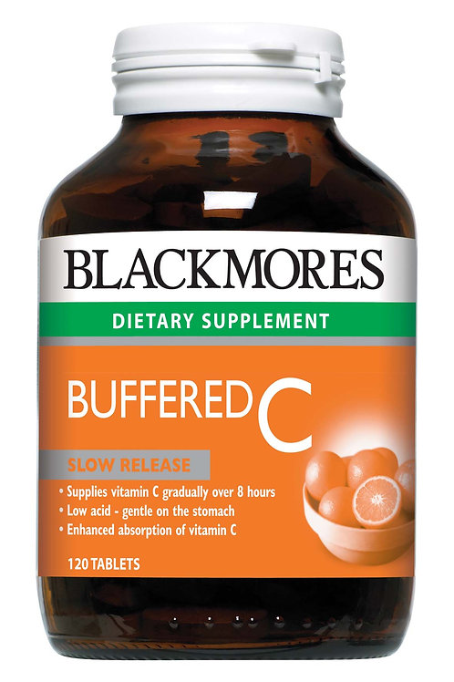 Blackmores Buffered C 120 Tablets (₱12.05/Tab)-EXP - Aug2022