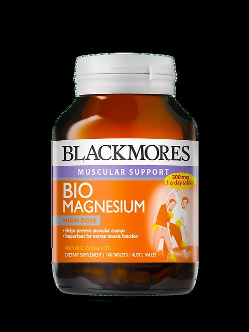 Blackmores Bio Magnesium 100 Tablets(₱21.58/Tab)-Jun 2022