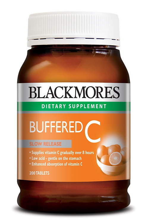 Blackmores Buffered C 200 Tablets (₱15.51/Tab)-EXP May2023