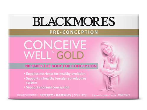 Blackmores Conceive Well Gold 28 Tablets + 28 Capsules(₱80/Set) -EXP Jul 2021